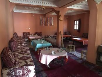 hotel restaurant Kasbah Ait-Arbi Le salon